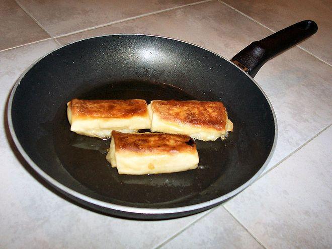 Готовка на тефлоновой сковороде
