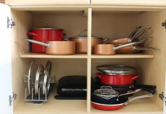 Неправильное хранение посуды