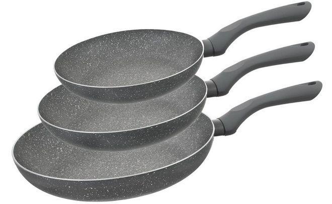 Сковороды разных размеров