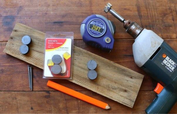 Набор инструментов для изготовления магнитной планки
