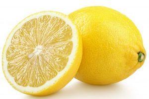 Нарезанный лимон природный окислитель