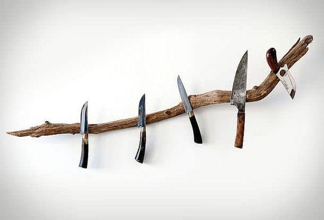 Оригинальный магнитный держатель для ножей от BuchholzBerlin