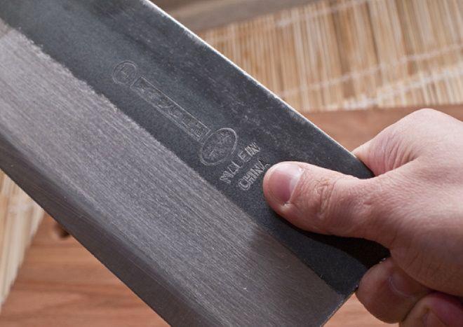 Китайский нож Цай Дао с оригинальной маркировкой