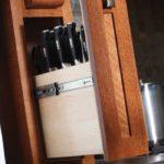 Специальный бокс в кухонном гарнитуре