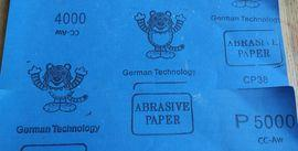 Наждачная бумага в 4000 и 5000 единиц зернистости