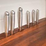 Хранение ножей в прорезях столешницы