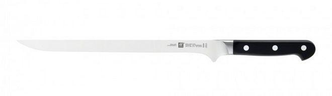 Длинный тонкий нож для нарезки хамона