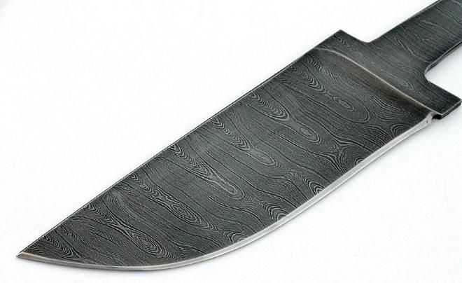 Лезвие для ножа из дамасской стали