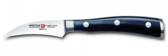 Нож для чистки картофеля с изогнутым лезвием