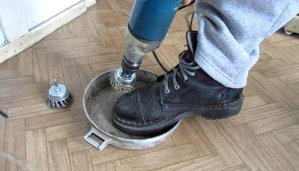 Механическая очистка