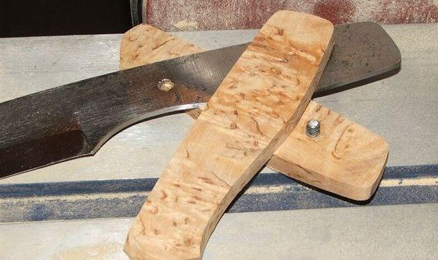 Деревянные заготовки рукояти со шпильками