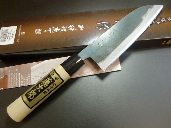 Японский нож сантоку с упаковкой