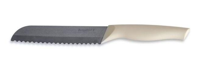 Кухонный керамический нож для реза хлеба