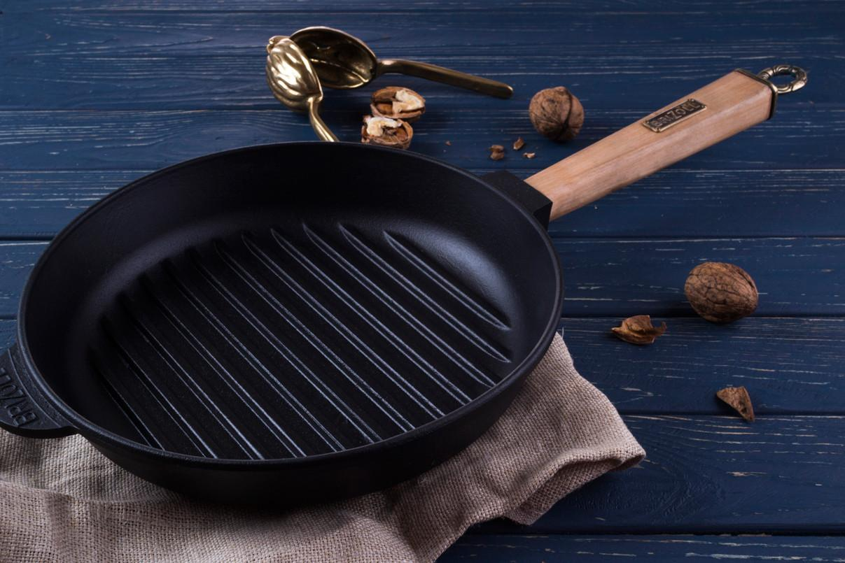 Как выбрать сковороду гриль