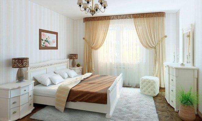 Карниз для спальни