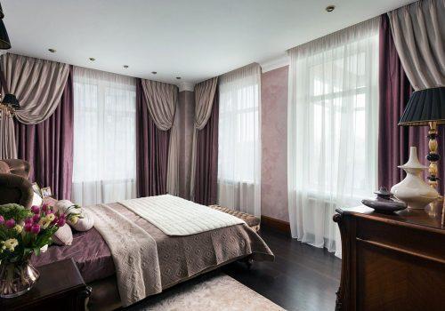 Как выбрать шторы в спальню: 60+фото и 20 вариантов