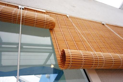 Бамбуковые шторы на балкон