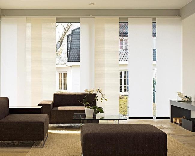 Длинные экранные шторы