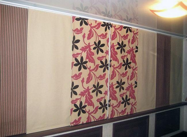 Японские панели на балконе
