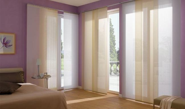 Японские шёлковые шторы