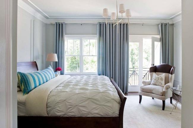 Интерьера спальни в классическом стиле