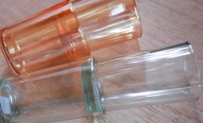 Застрявшие стаканы