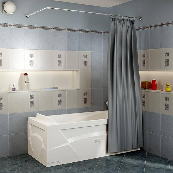 Карниз в ванной