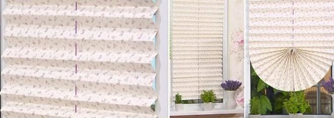 Бумажные шторы