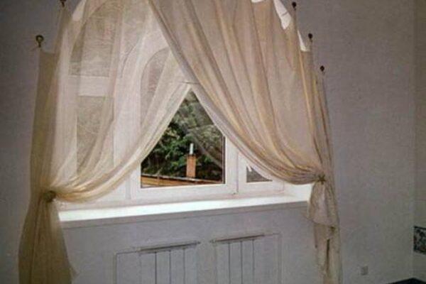 Арочная штора