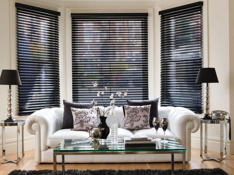 Жалюзи на окна: конструкция, материалы, идеи для разных комнат
