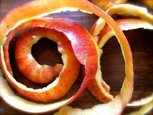 Очистки от яблок
