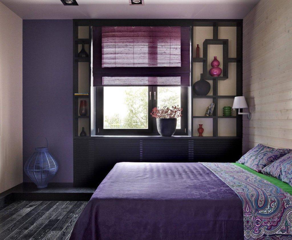Сиреневые шторы и 50 фото всех их оттенков
