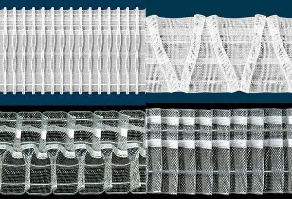 Тесьма для штор: пособие по созданию драпировок своими руками