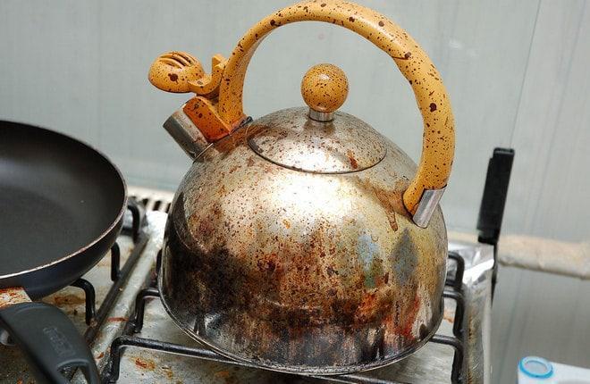 Чайник с гарью