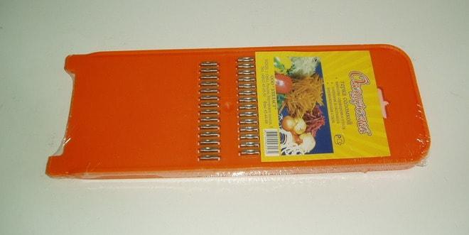 Терка для корейской морковки