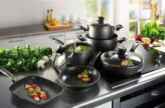 Посуда для плиты из стеклокерамики