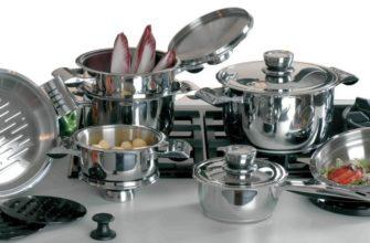 Посуда из нержавейки