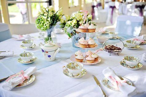 Сервировка чайного стола