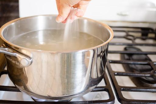 Кипячение нержавеющей посуды
