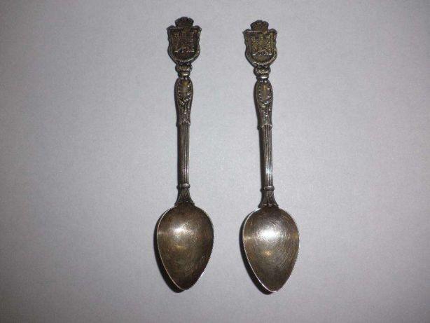 Потемневшие ложки из серебра