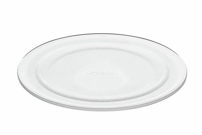 Стеклянная тарелка