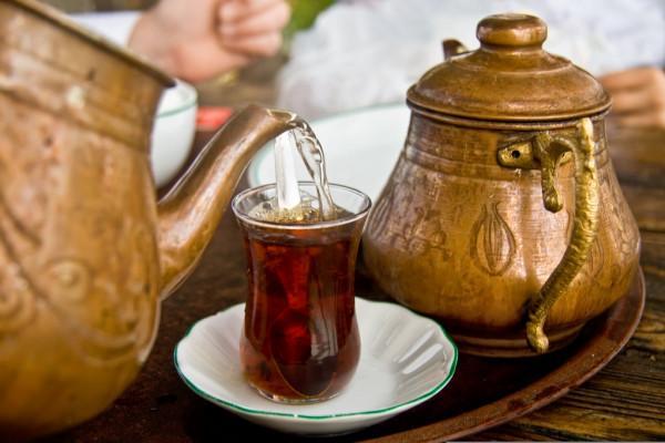 Подача чая