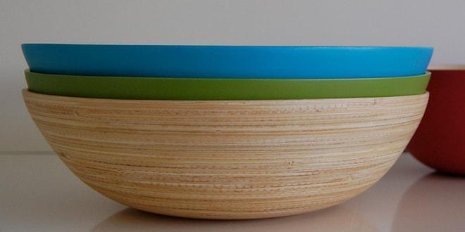 Тарелки из бамбука
