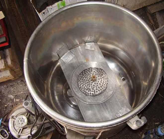Соковыжималка из стиральной машинки