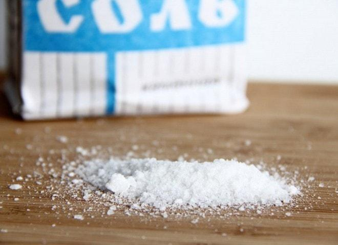 Соль крупного помола