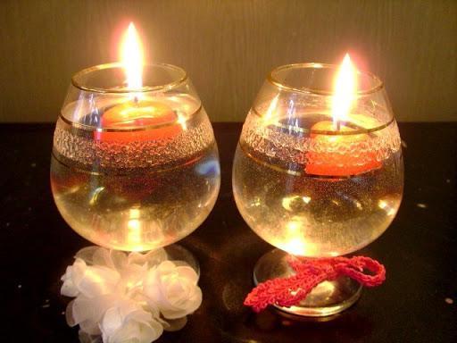 Плавающая свеча