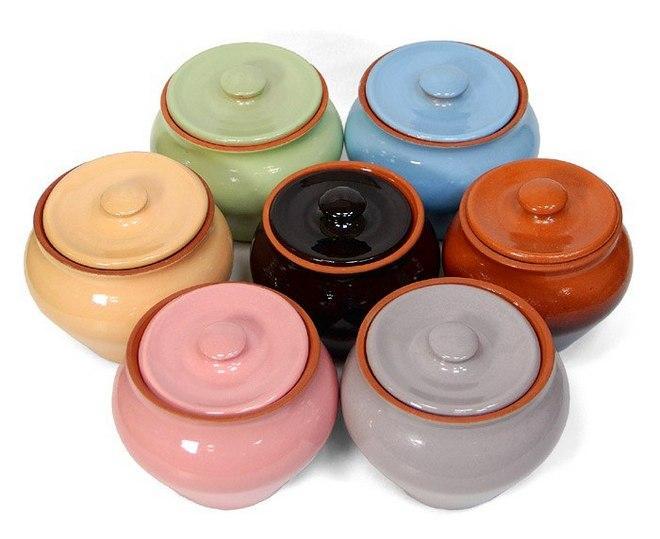 Горшки из керамики