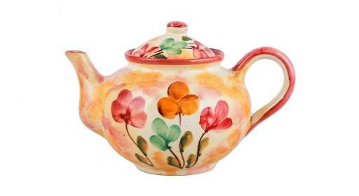 Керамический глиняный чайник