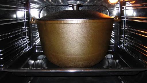 Обработка в духовке