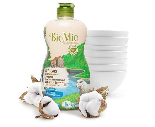 Biomio с экстрактом хлопка